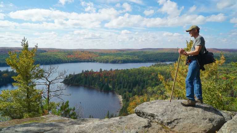 Photo tips for hiking the Centennial Ridges Trail in Algonquin Park.